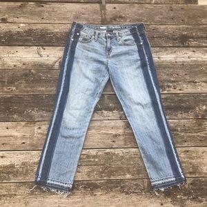 Mossimo Women's Crop Pantalon Boyfriend Jeans